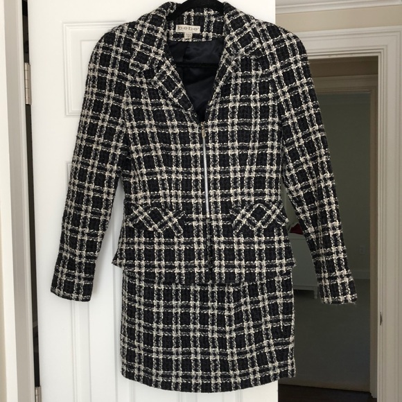 Bebe Chanel Style Suit